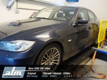 Tuning BMW 3 serie 320D 150pk