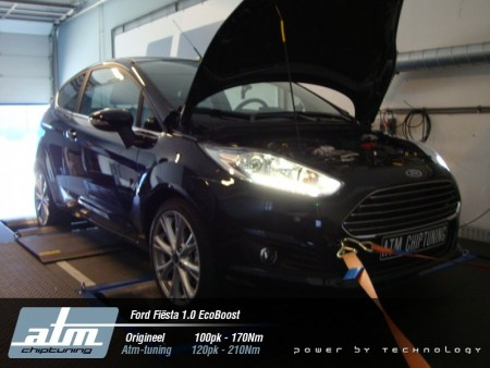 Tuning Ford Fiesta 1.0 EcoBoost 100pk