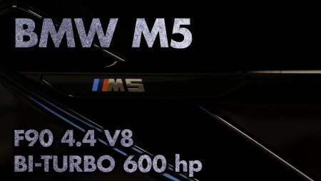 BMW M5 4.4 V8 Bi-Turbo - 602pk